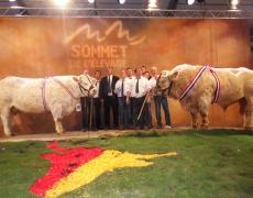 Première au Sommet de l'élevage