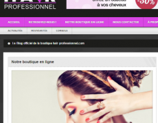 Rédaction article blog Hair Professionnel