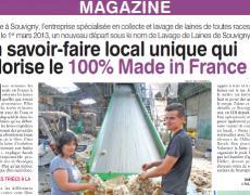 L'Allier Agricole –  Lavage de Laines de Souvigny