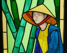 Les vitraux, véritables icônes à Bourges