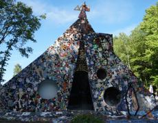 La Cathédrale de Jean Linard sublime céramique et mosaïque aux Journées du Patrimoine