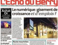 Journaliste à L'Echo du Berry, un nouveau challenge
